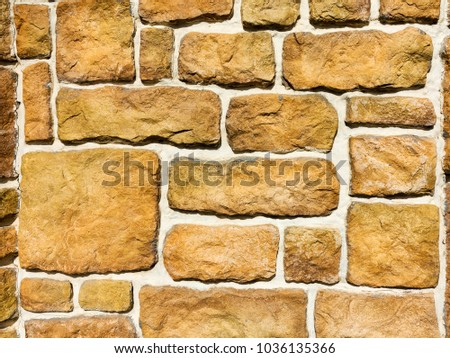 Free photos Gray pattern of decorative stone brick wall surface with ...