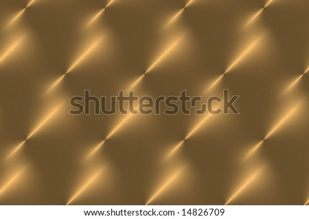 Pattern in shiny copper