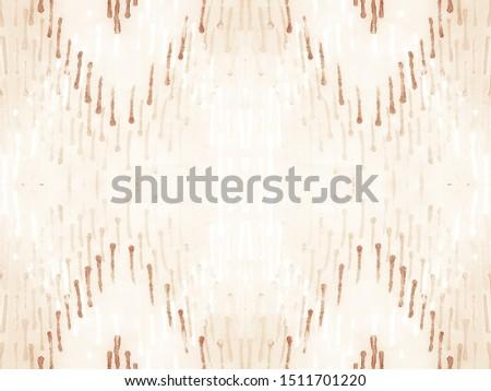 Pattern Lines. Ivory Sand Geo Ethnic Art. Seamless Modern Pattern Ikat. Vanilla Nude Striped Repeat. Shibori Pattern. Tie Dye Colorful. Beige Decoration Design. Taupe Ikat Art Texture.