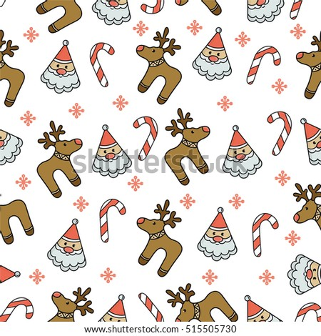 Pattern Merry Christmas image