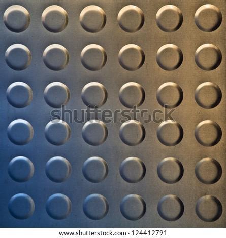 Pattern metal grid. aluminum metal texture