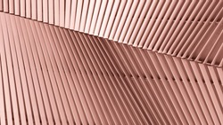 pattern of aluminum architecture wall