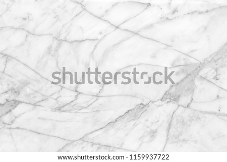 pattern of beautiful white marble for the background and design.   - Shutterstock ID 1159937722