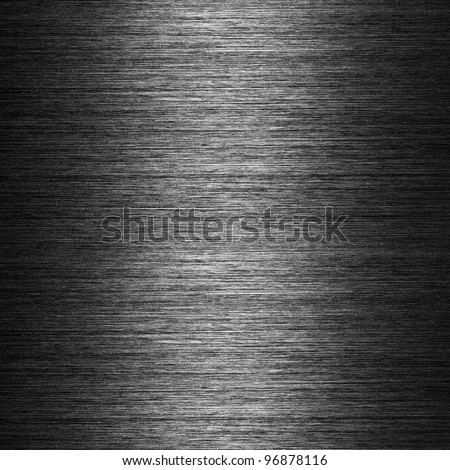 pattern of Brushed metal background metal plate template