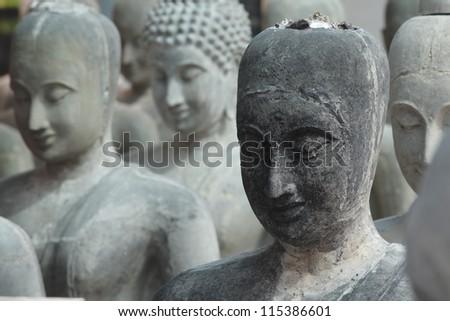 pattern of buddha statue