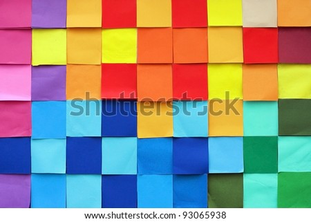 Pattern of Colorful wall