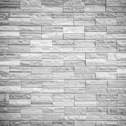 pattern of decorative gray slate stone wall surface
