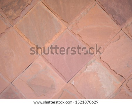 Pattern of decorative stone wall background.Stone wall texture. random size stone wall.Background of stone wall, concrete connection