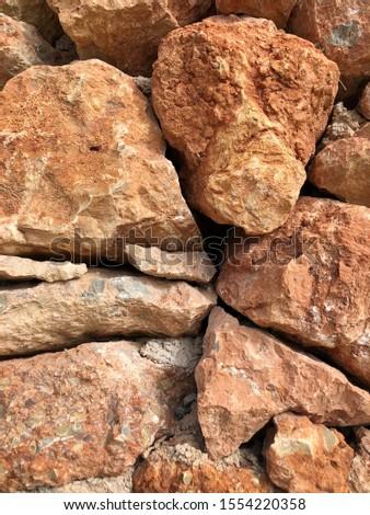 Pattern of decorative stone wall background.Stone wall texture. random size stone wall.Background of stone wall.