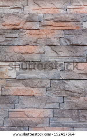 Pattern of grunge stones wall