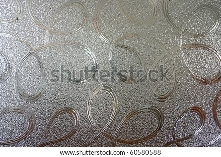 Pattern of seamless clear white Glass wall surface texture