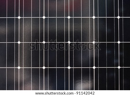 pattern of solar cell