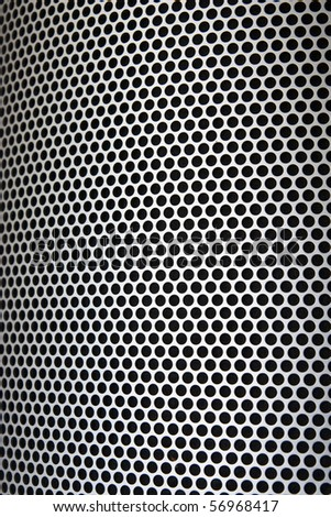 Pattern of sound reflexion filter