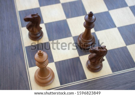Pattern of stalemate on a chessboard Сток-фото ©