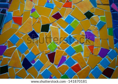 pattern on the mosaic #141870181