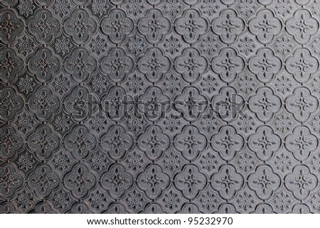 pattern on window glass background