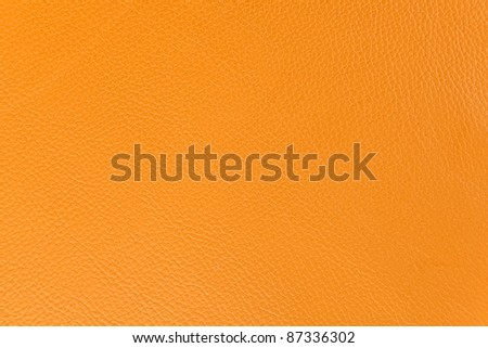 Pattern, Orange leather texture as background