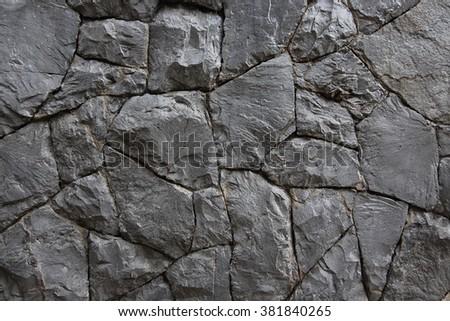 pattern stone wall background