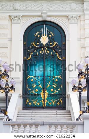 Pattern Thai door