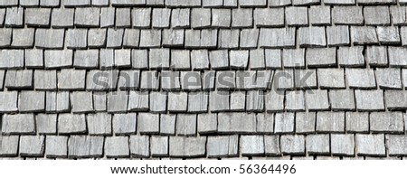 Pattern - Wooden Shingles