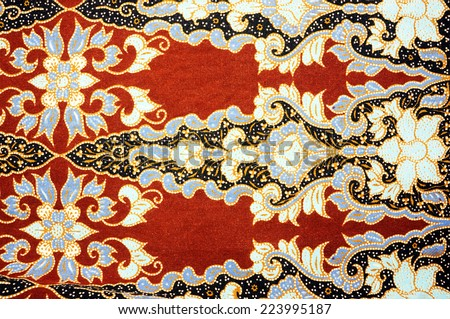 patterned cloth