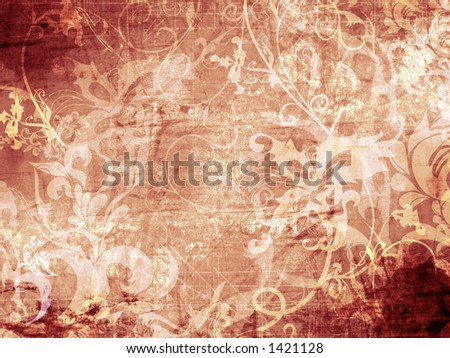Patterned grunge backdrop