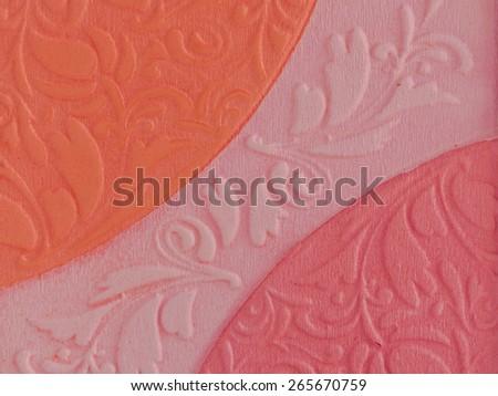 patterned makeup powder texture
