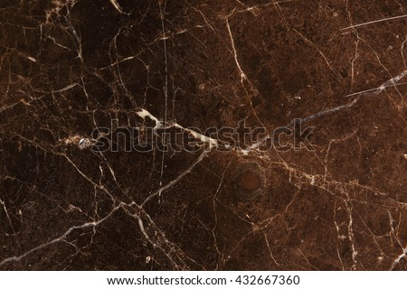 Patterned natural of dark brown marble texture for design.