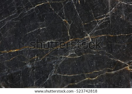 Patterned natural of dark gray marble (Gold Russia) texture background for product design #523742818