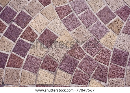 patterned tiles purple