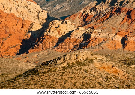 Patterns Of Red Rock Canyon