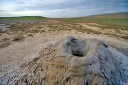 Patterns of the mud volcano