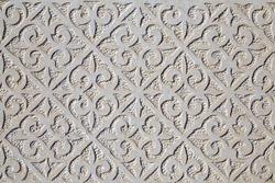 patterns on a white stone