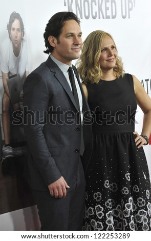 Paul Rudd & Wife J...