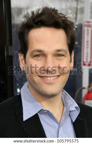 Paul Rudd  at the Los Angeles Premiere of 'Monsters Vs. Aliens'. Gibson Amphitheatre, Universal City, CA. 03-22-09