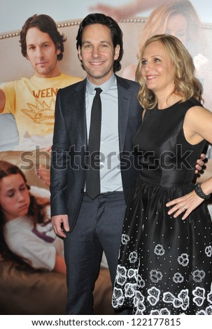 """Paul Rudd & wife Julie Yaeger at the world premiere of his movie """"This Is 40"""" at Grauman's Chinese Theatre, Hollywood. December 12, 2012  Los Angeles, CA Picture: Paul Smith"""