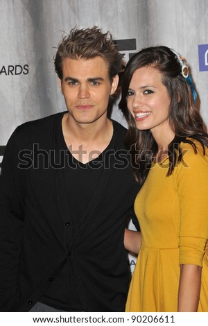 Paul Wesley & Torrey DeVitto at the 2011 Spike TV Scream Awards at Universal Studios, Hollywood. October 15, 2011  Los Angeles, CA Picture: Paul Smith / Featureflash