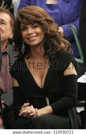 Paula Abdul Honoring Ceremony of  Los Angeles Lakers Owner,  Jerry Buss as the 2,323rd star on the Hollywood Walk of Fame, Hollywood, California, October 30, 2006.