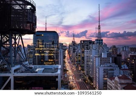 Paulista Avenue - Sao Paulo, Brasil