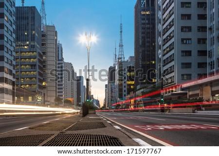 Paulista Avenue - Sao Paulo - Brazil - South America