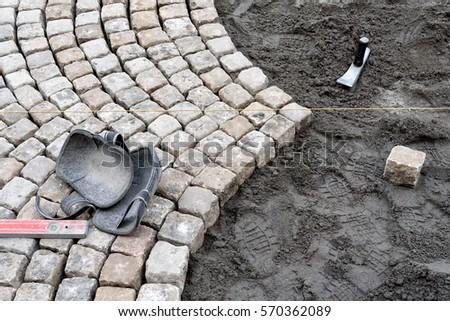 pavement works