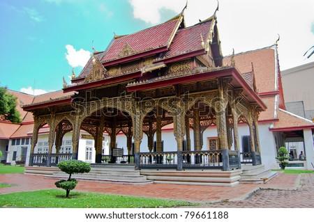 Pavilion in Bangkok National Museum