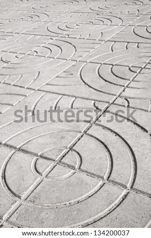 Paving Slabs. seamless pattern - the gray concrete floor