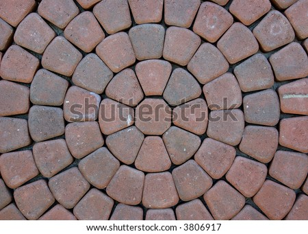 Paving stone pattern and background