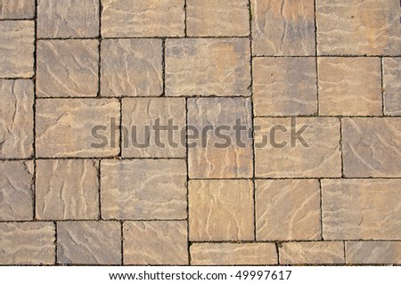 Paving stones pattern, background