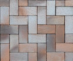 Paving stones pattern, pavement texture. Modern pavement background texture close up.