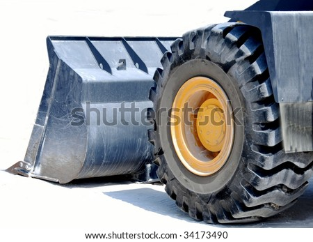 Pay loader Machine - stock photo