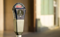 Pay to Park in a Large Metro Area Parking Meter