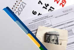 paycheck protection program second draw. borrower application form revised. paycheck protection program new round.