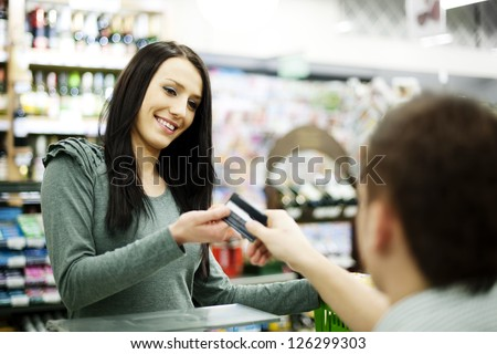 Paying credit card for purchases
